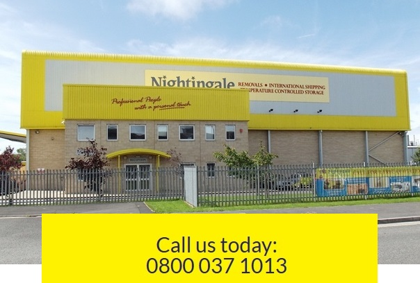 Weston super Mare Removals storage company Nightingale Video